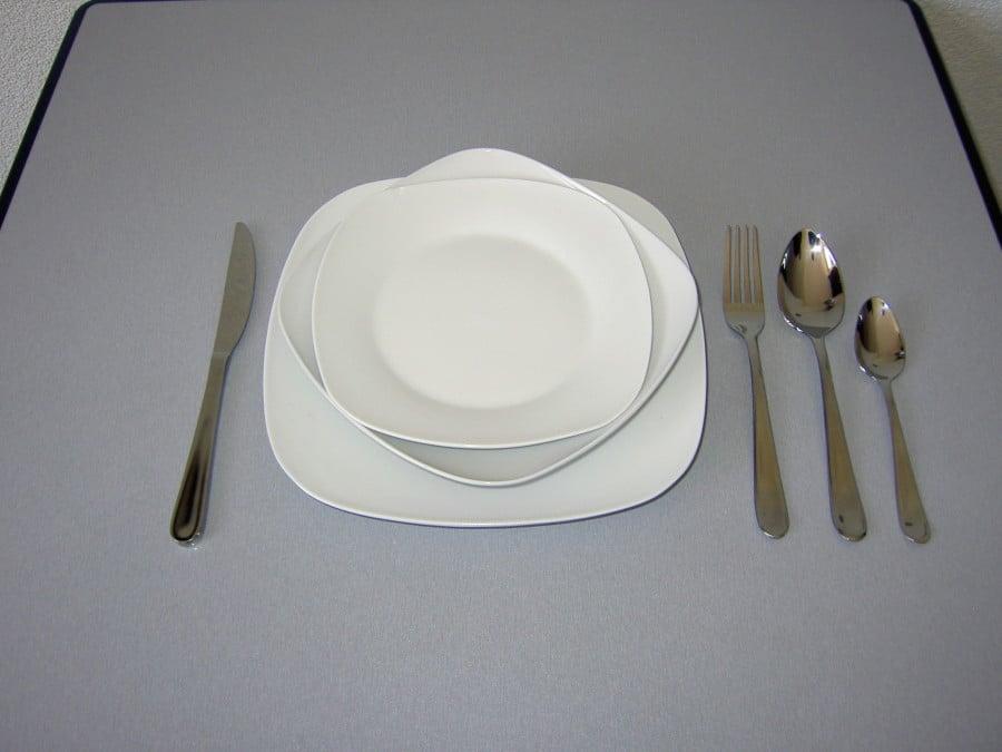 Bestek met borden