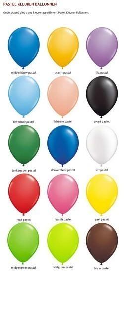 Kleuren wijzer pastel
