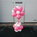 Ballonbloem pilaar