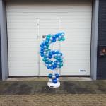 Cijfer ballonpilaar